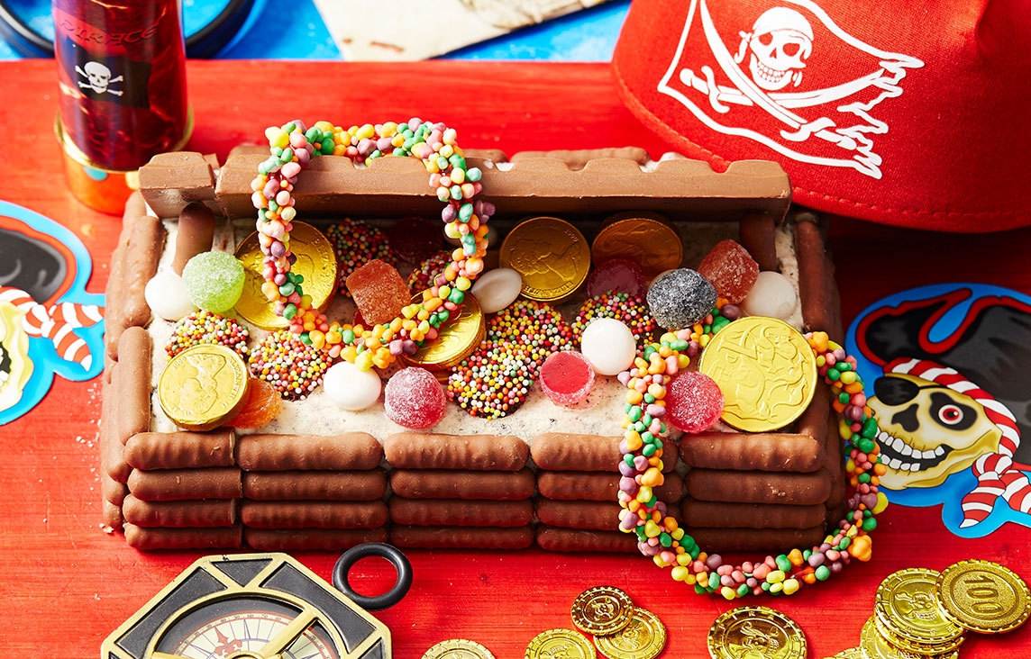 Treasure Chest Ice Cream Cake New Idea Magazine