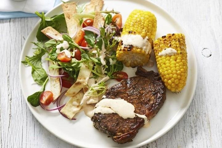 mexican-steak-corn-salad