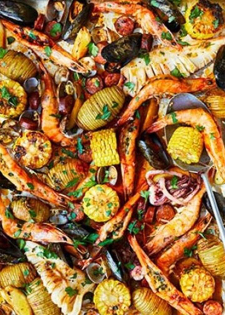 one-pan-seafood