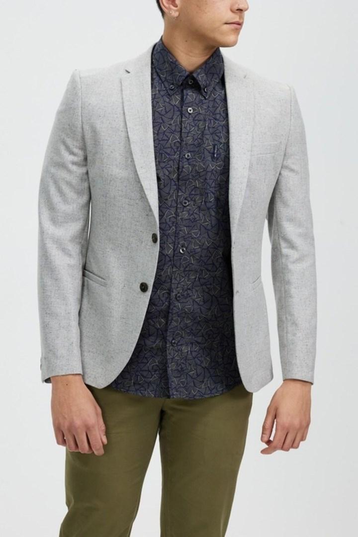 ben sherman gray blazer