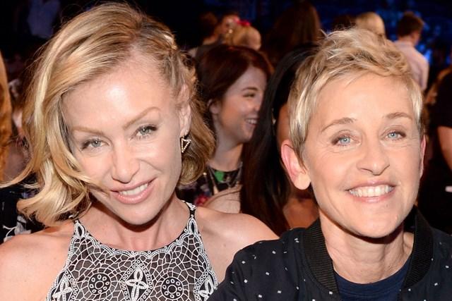 Portia De Rossi Wedding Kiss.Ellen Degeneres And Portia De Rossi Renew Their Wedding Vows