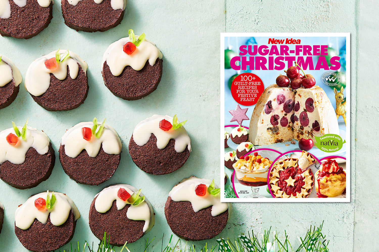 Christmas Pudding Biscuits Recipe Recipe New Idea Magazine