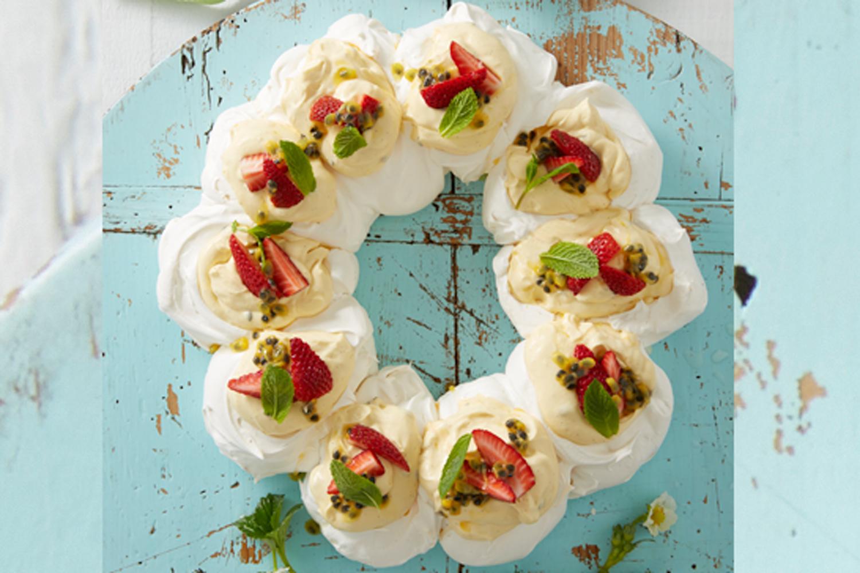 Pavlova Wreath Recipe Recipe New Idea Magazine