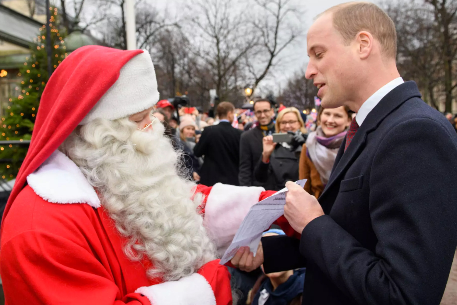 Prince George asks Santa for police auto