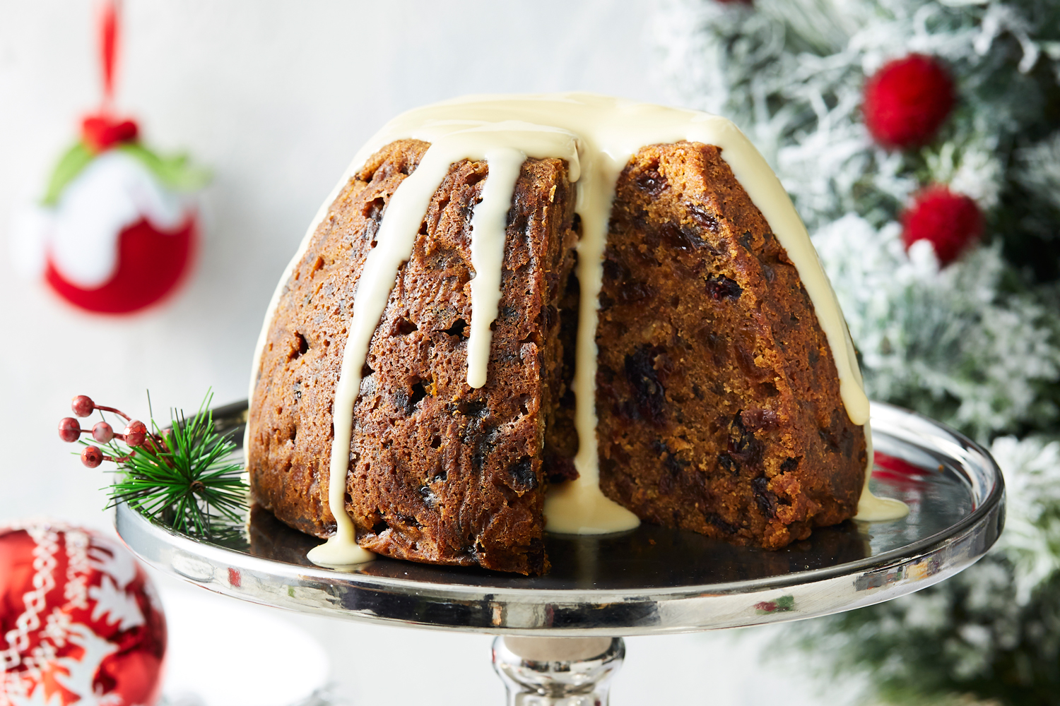 slow cooked christmas pudding recipe | new idea magazine