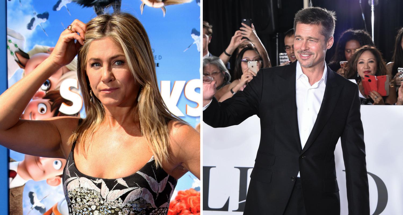 Brad Pitt And Jennifer Aniston Officially Married New Idea Magazine