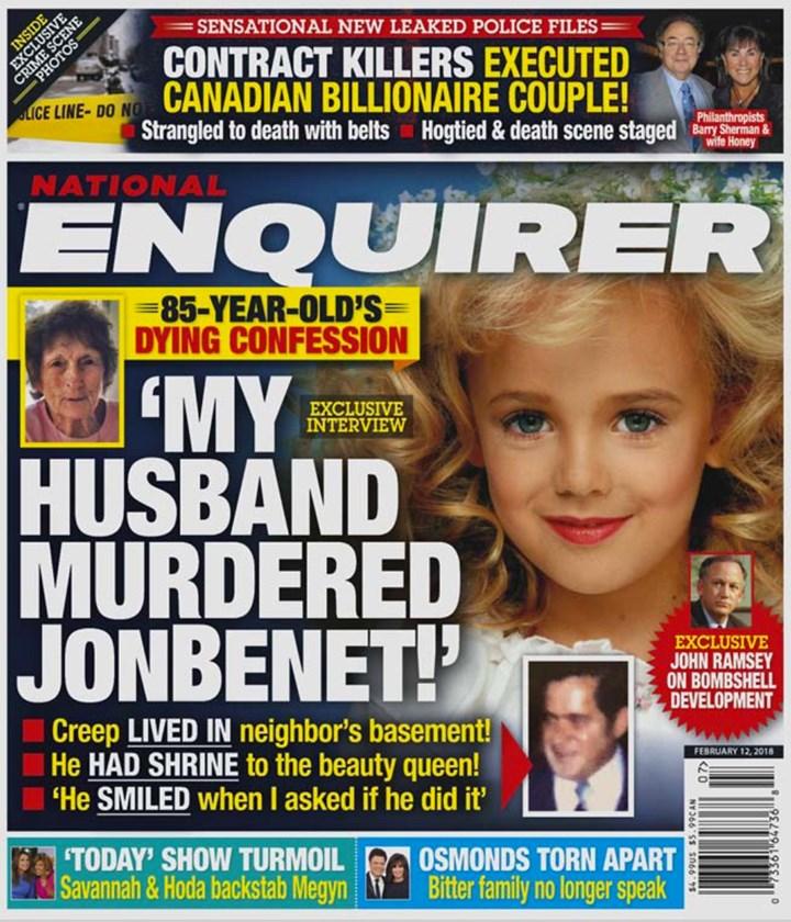 Charlotte Hey claims her husband killed JonBenet Ramsey