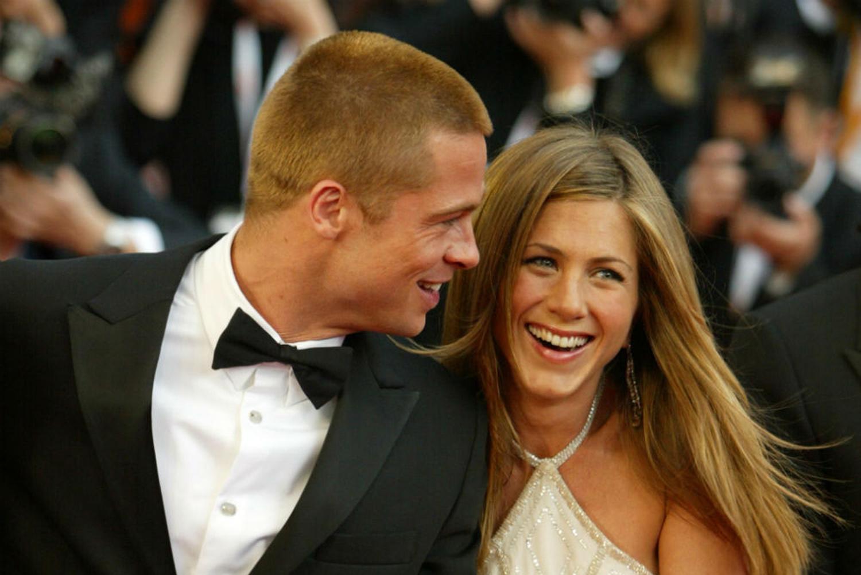 Brad Pitt and Jennifer Aniston reunite with a wedding a baby | New