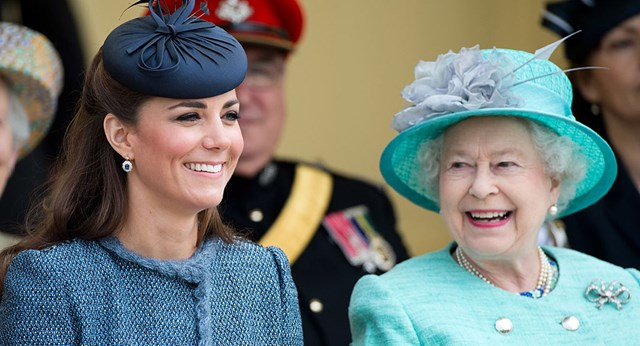 Kate to be crowned by the Queen in a secret ceremony