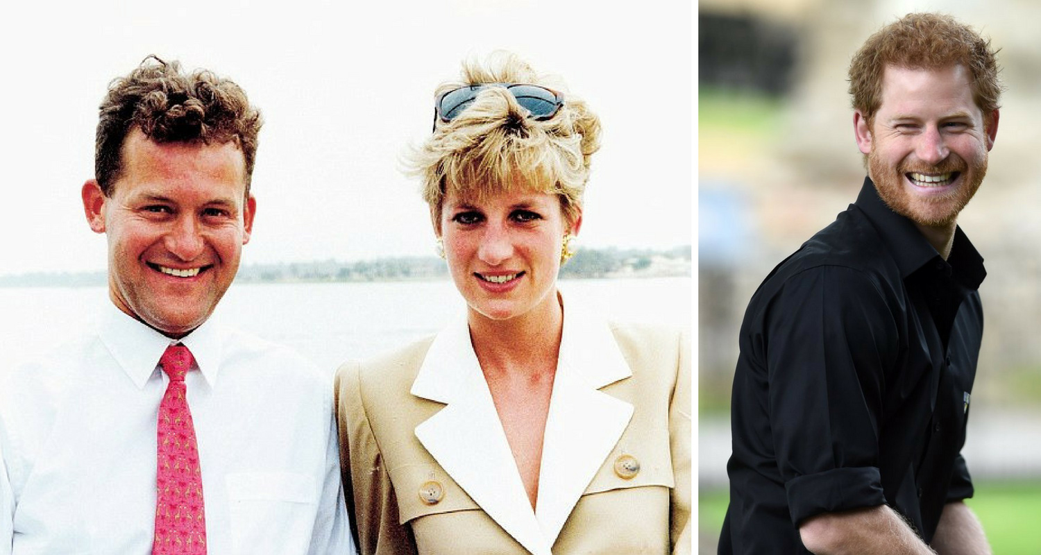 paul burrell reveals that james hewitt being prince harry s biological father rumour is false new idea magazine new idea
