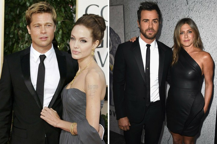 Jennifer Aniston And Justin Theroux Wedding.Brad Pitt And Jennifer Aniston Reunite With A Wedding A Baby New