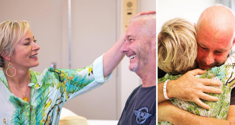 Barry Du Bois Gives Cancer Update To Amanda Keller On The Living Room New Idea Magazine