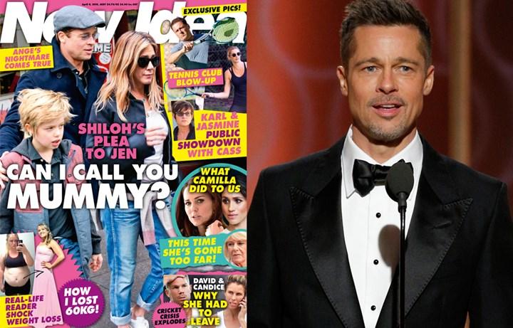 Shiloh S Plea To Jennifer Aniston Can I Call You Mummy