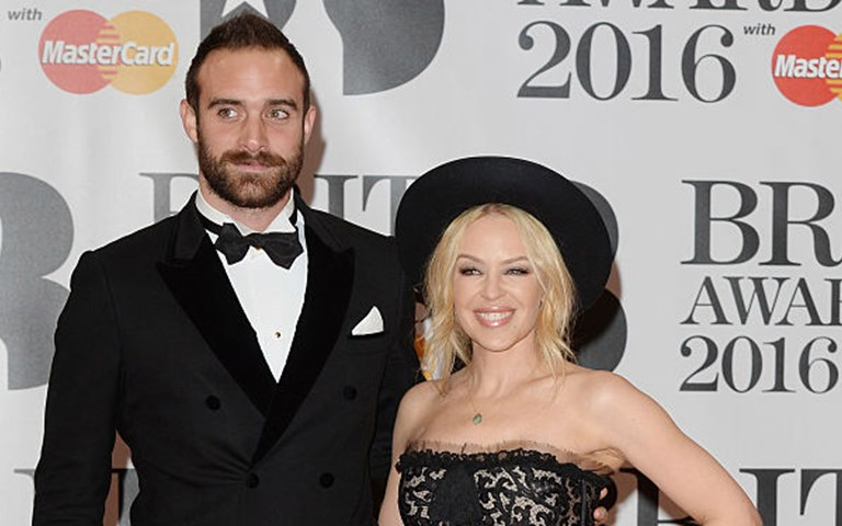 Kylie Minogue fuels speculation she is expecting