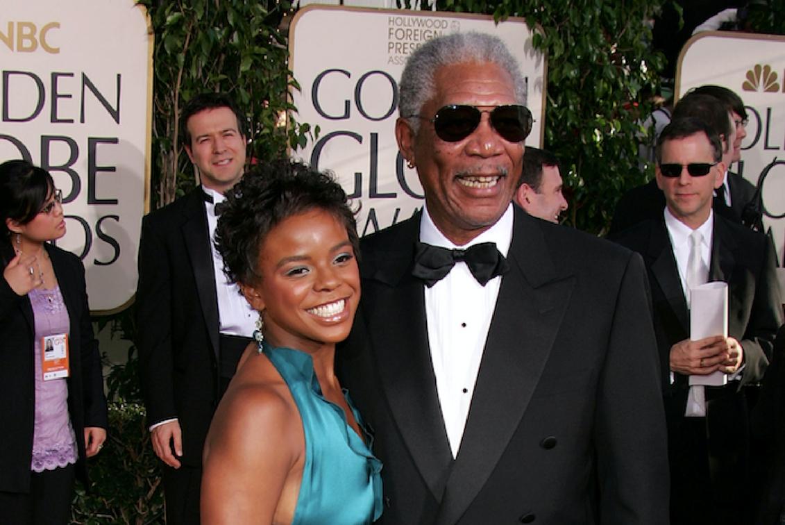 Morgan Freeman and Myrna Colley-Lee