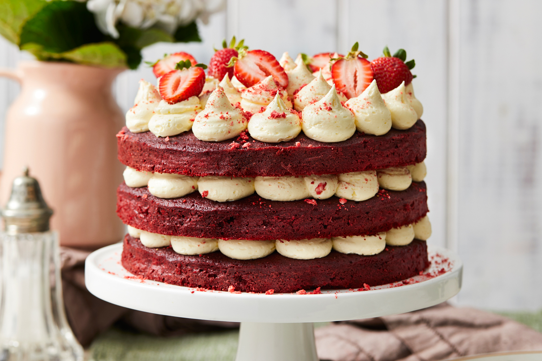 Red Velvet Layer Cake Recipe Recipe New Idea Magazine