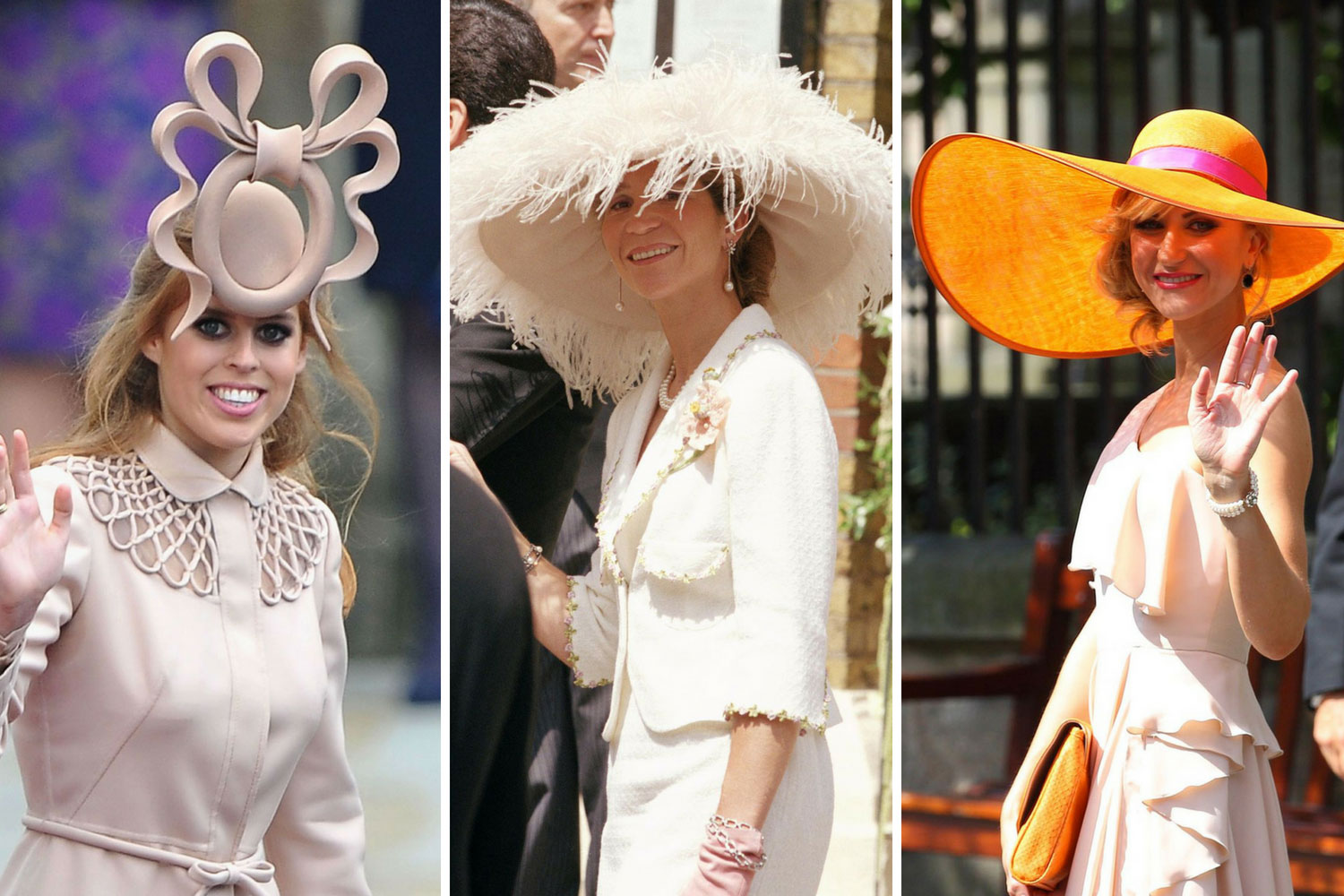6940897c08916 The wackiest royal wedding hats of all time