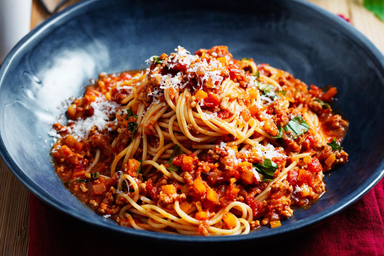 spaghetti bolognese recipe new idea magazine