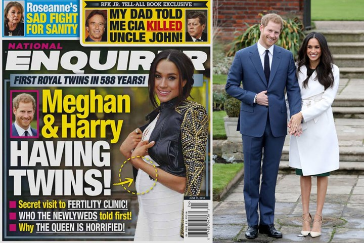 Meghan Markle and Prince Harry reportedly 'having twins' | New Idea