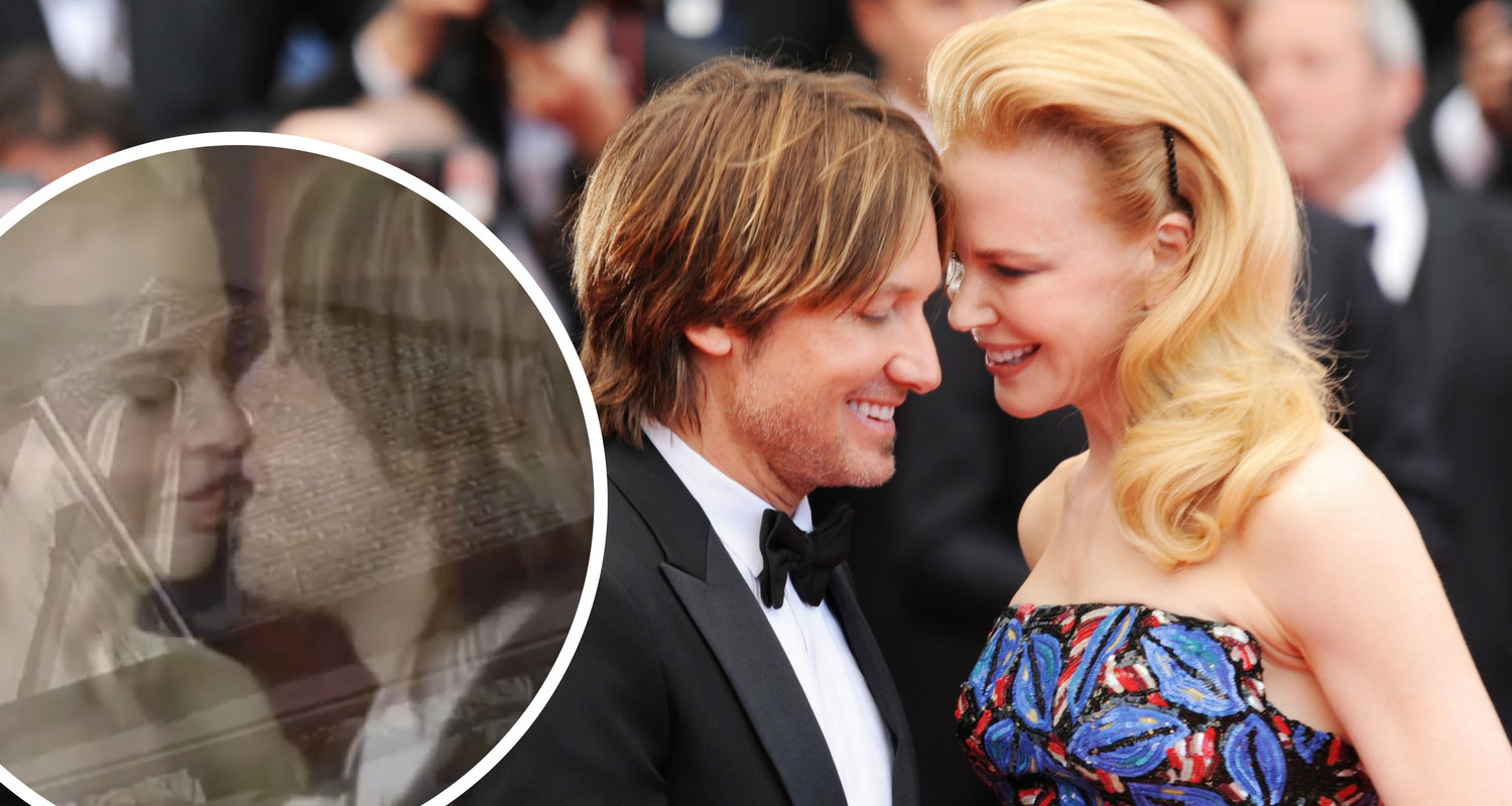 Nicole Kidman Keith Urban Wedding: Nicole Kidman And Keith Urban Share Unseen Wedding Clip