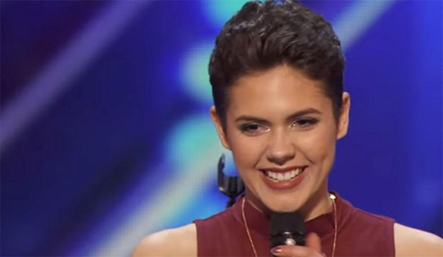 "16-Year-Old Cancer Survivor Wows with Her Performance of ""Fight Song"""