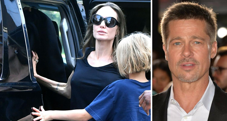 Angelina Jolie's hell as custody battle against Brad Pitt