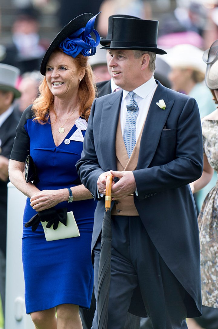 Prince Andrew caught slapping Sarah Ferguson's behind in cheeky clip