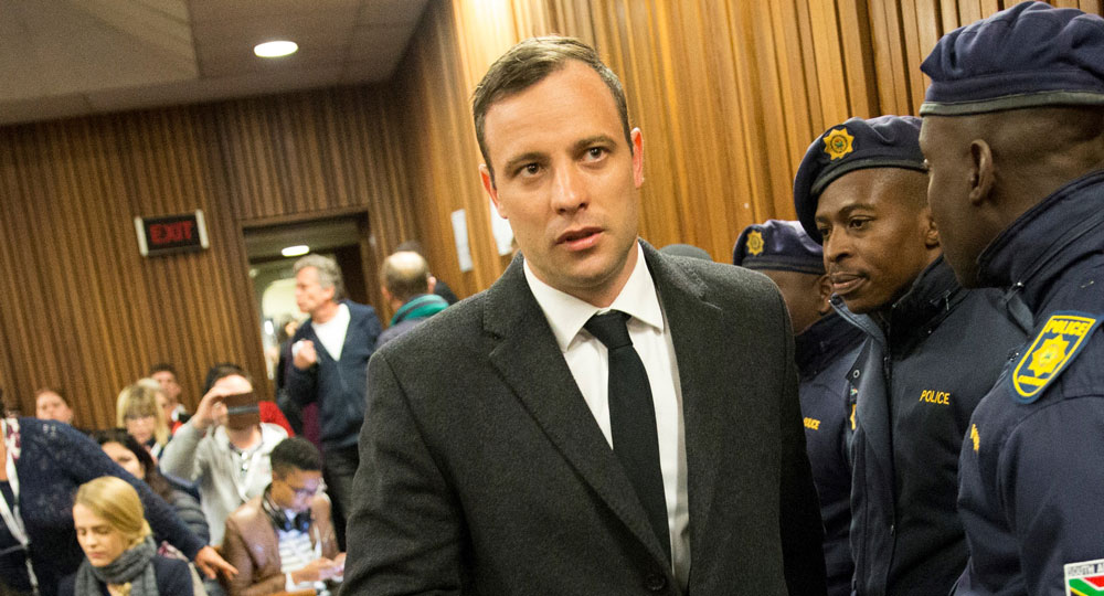 Oscar Pistorius' prison sentence has been increased to 13 years