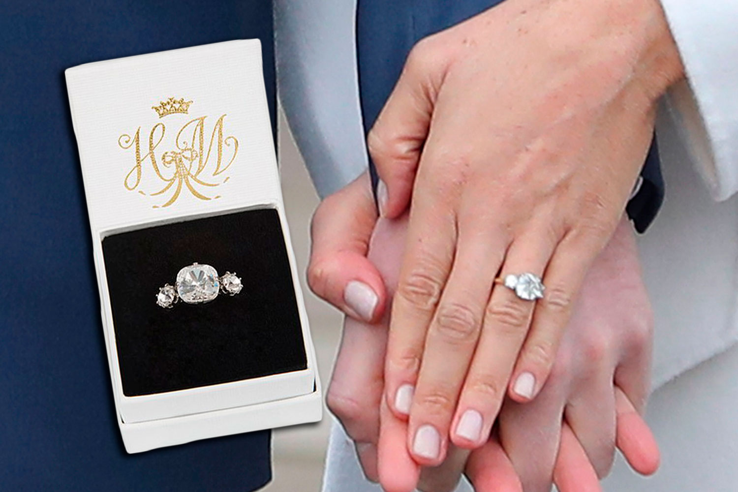 A replica of Meghan\'s engagement ring exists for less than $60 | New ...