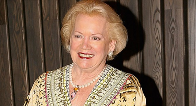 Lady Susan Renouf has died on her 74th birthday