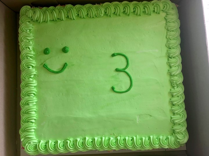 Woolworths Frog Theme Birthday Cake Goes Viral