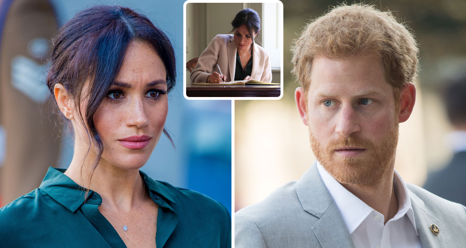 15028f3cf13 Meghan Markle s palace diaries revealed