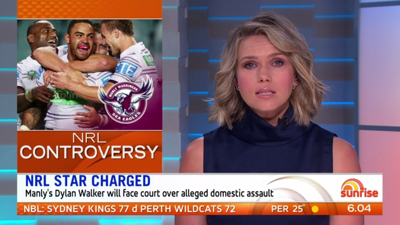 NRL star Dylan Walker charged over alleged domestic assault