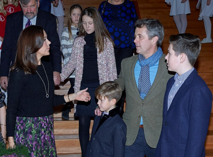 Princess Mary's Christmas anguish as father forced to step