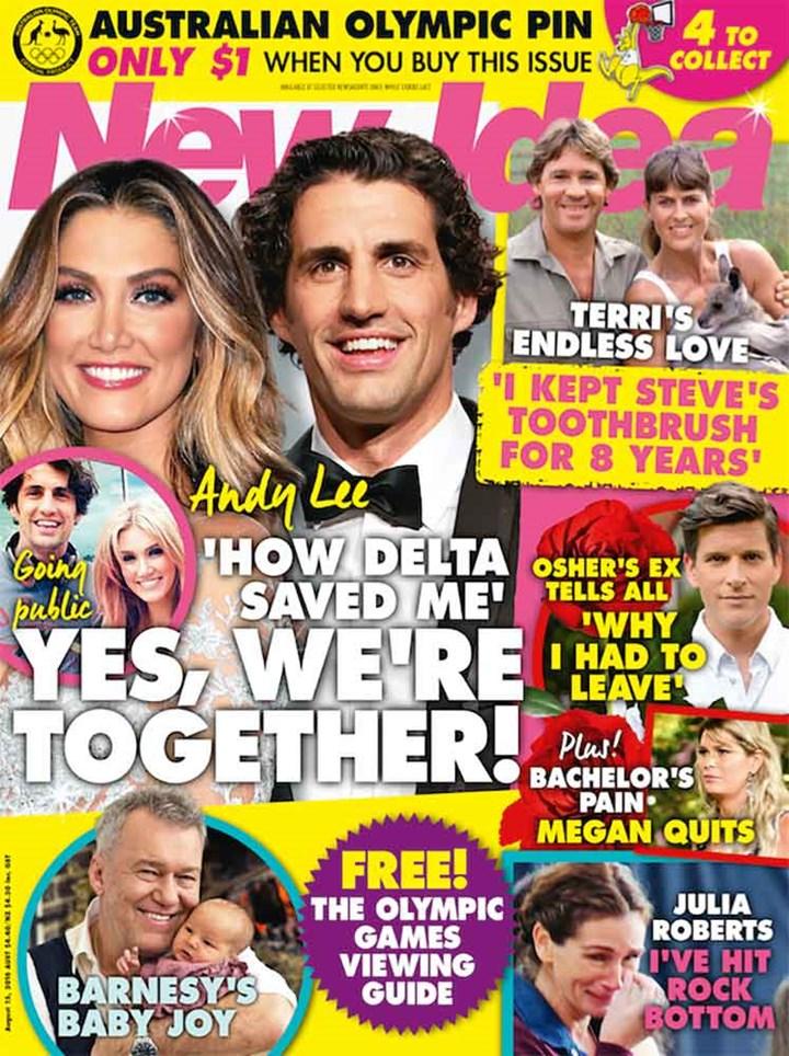 Mahalia Barnes Baby Joy New Idea Magazine