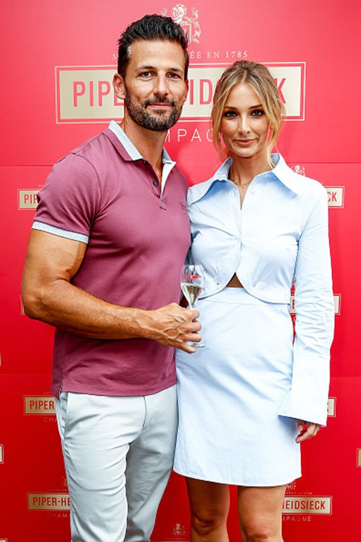 Tim Robards And Anna Heinrich Attend Australian Open Cocktail Party New Idea Magazine