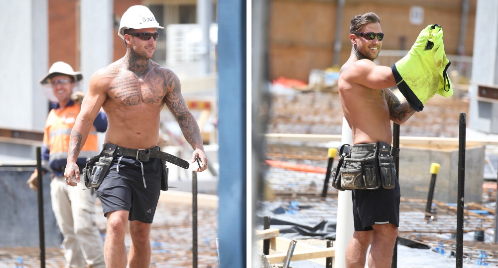 Are Mafs Jess And Dan Still Together Jess Addresses: MAFS' 'hot Brother' Rhyce Strips Off At Building Site
