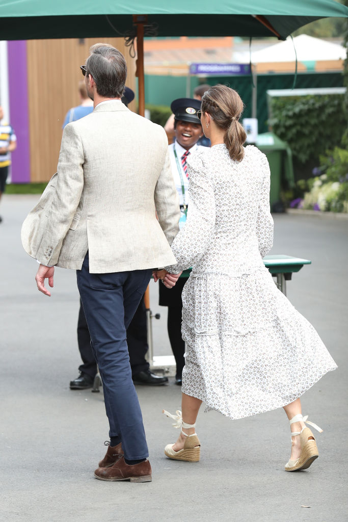 OPINION: Pippa's mum bum: Does she REALLY have a saggy