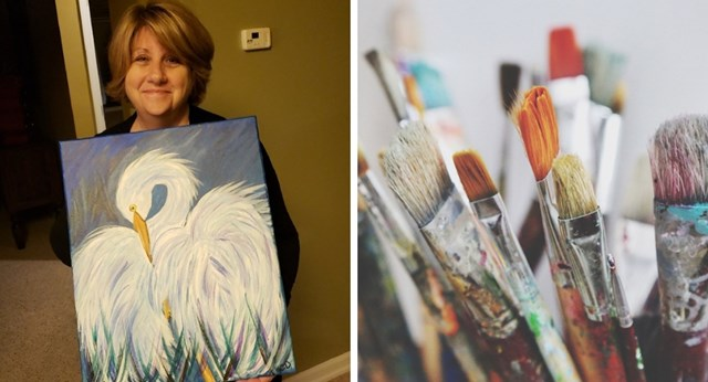 See why THIS painting went viral | New Idea Magazine