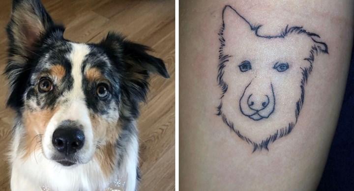 See This Dog Lovers Huge Tattoo Fail New Idea Magazine