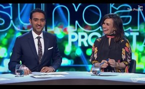 Lisa Wilkinson cracks up on TV after X-rated remark