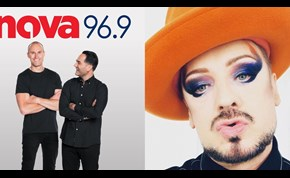 Boy George Tells Fitzy & Wippa Sophie Turner May Play Him in Biopic