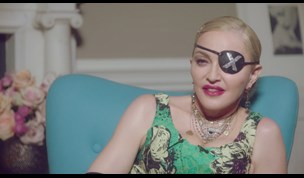 "Madonna Joins Andrew Denton's ""Interview"""