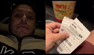 MAFS' Telv spends quality time with his kids at the movies