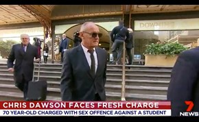 WATCH: 70-year-old accused wife killer Chris Dawson charged over a historical sex offence