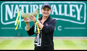 WATCH: Ashleigh Barty earns no.1 world tennis spot