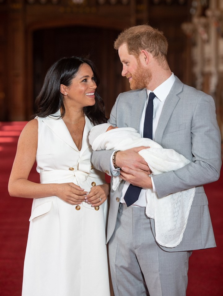 We have ALL the details for Archie Sussex's christening!