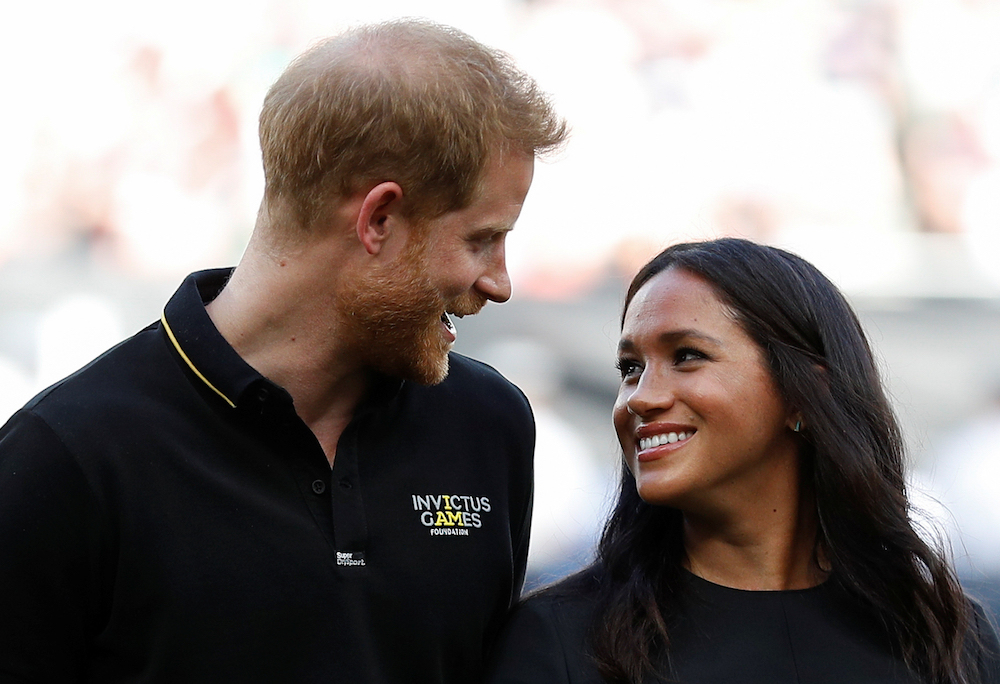 Prince Harry and Meghan Markle hit the red carpet for Lion King