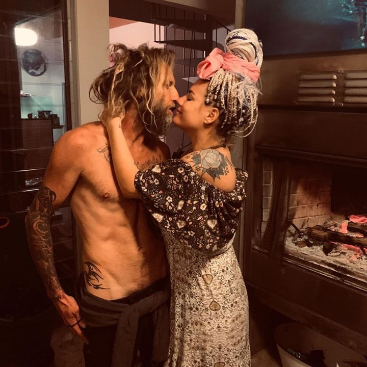 Constance Hall hints at split from husband Denim Cooke