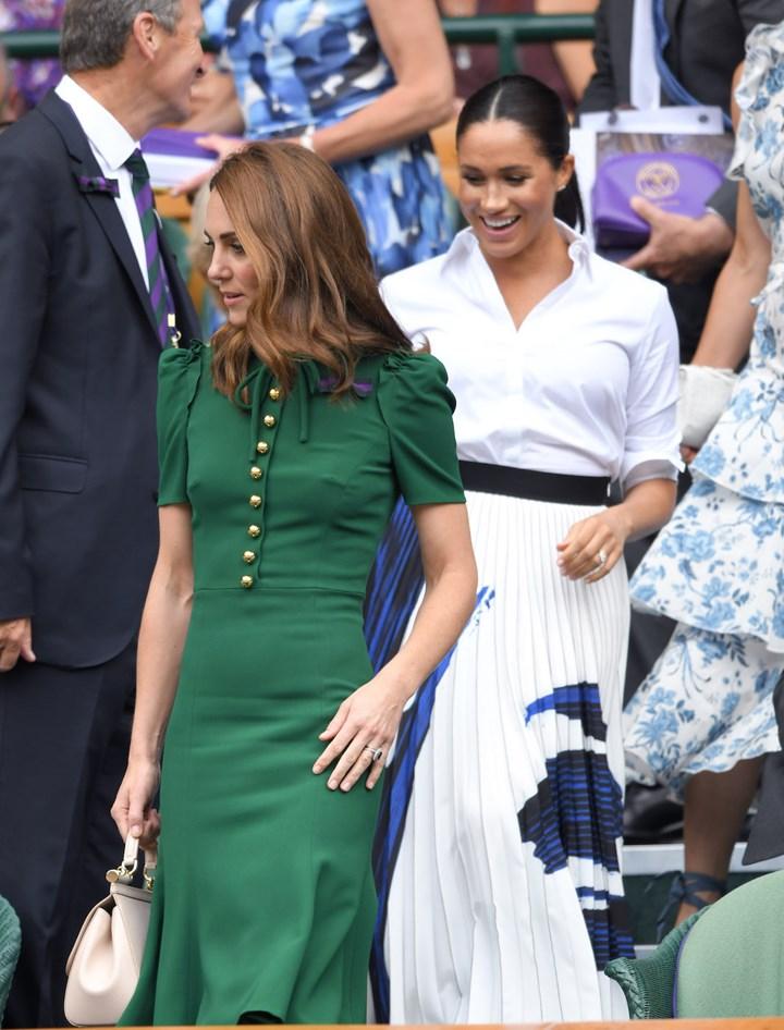 Kate Middleton behind Meghan Markle PR stunt at Wimbledon